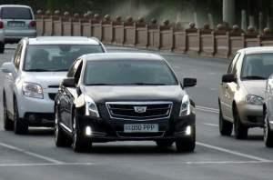 Cadillac XTS администрации президента Узбекистана / Правительства