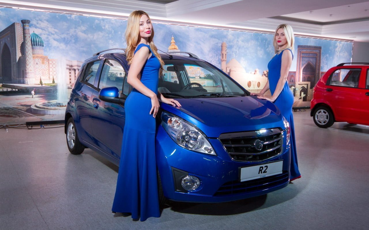 GM Uzbekistan экспорт Ravon R2 (Chevrolet Spark)