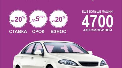 Автокредит InfinBank GM Uzbekistan Spark, Nexia Lacetti в Ташкенте Узбекистан