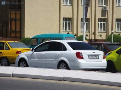 Автомобиль Бюро принудительного исполнения при Генральной прокуратуре Узбекистана в Бухарской области