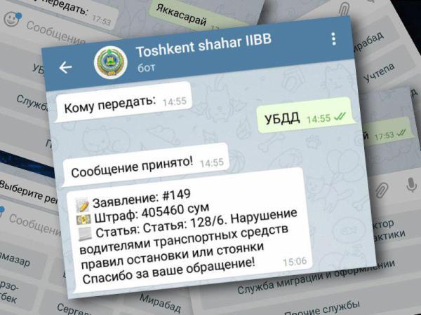 Отправить фото и видео нарушений ПДД можно в Telegram-бот ГАИ