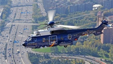Вертолет ГУВД в Ташкенте
