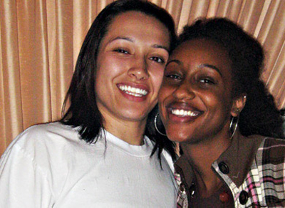 Thin black lesbians
