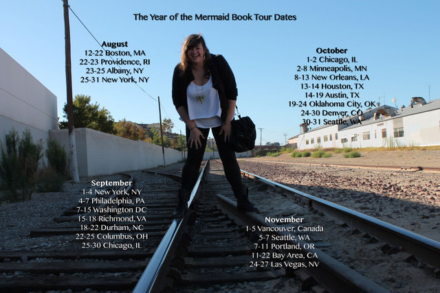 the year of the mermaid book tour dates