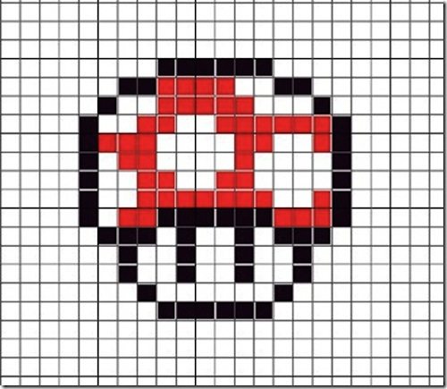 Cute Perler Bead Mario Patterns
