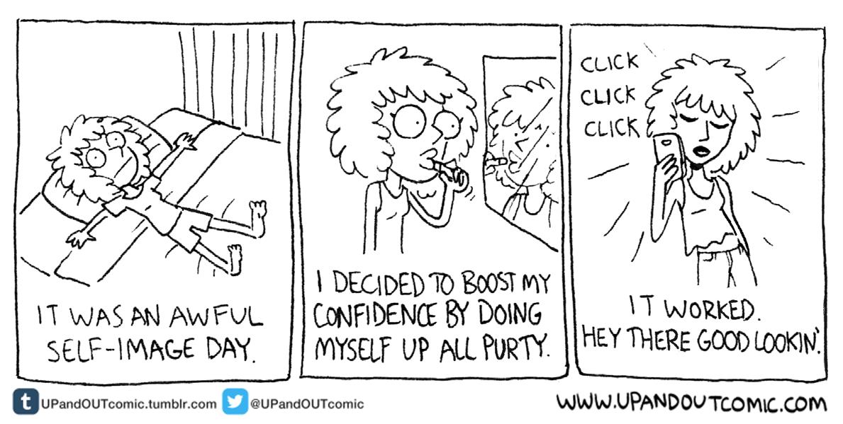 Drawn to Comics: Trans Cartoonist Julia Kaye Makes Cute
