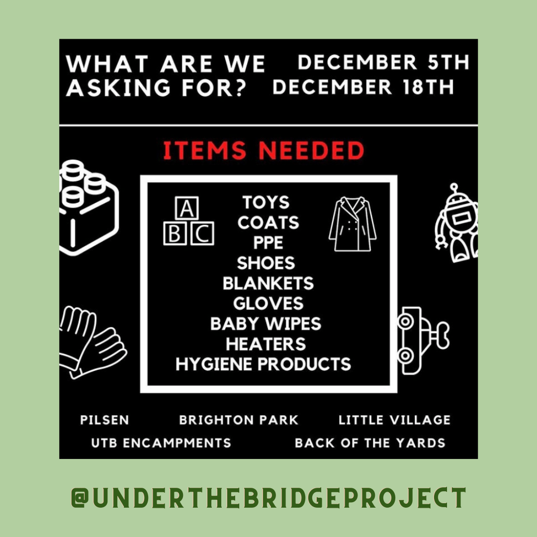 DEL BARRIO TO THE BLOCKS GIVEAWAY TOUR  ALONGSIDE SOME AMAZING ORGANIZATIONS AND PEOPLE WE WILL BE HANDING OUT GOODIES FOR OUR COMMUNITIES IN NEED  TOUR DAY IS 12/20/20  WE ARE COLLECTING DONATIONS ACROSS ALL NEIGHBORHOODS SO A NEARBY OPTION IS ALWAYS AVAILABLE FOR YOU !  HELP US BRING JOY , HOPE, AND WARMTH TO THOSE IN NEED!