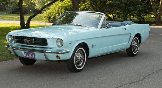 El Ford Mustang cumple 55 años