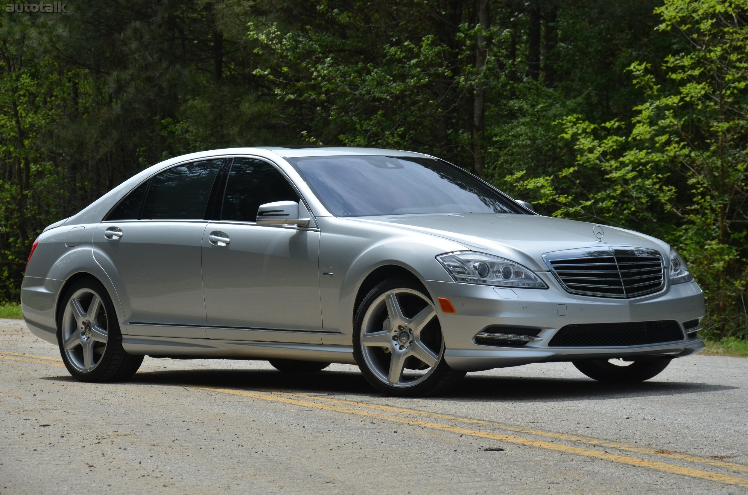 2012 Mercedes Benz S550 Review AutoTalk