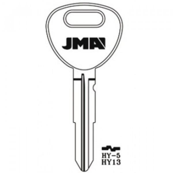 1995-1999 JMA HYUNDAI KEY BLANK *HY13*