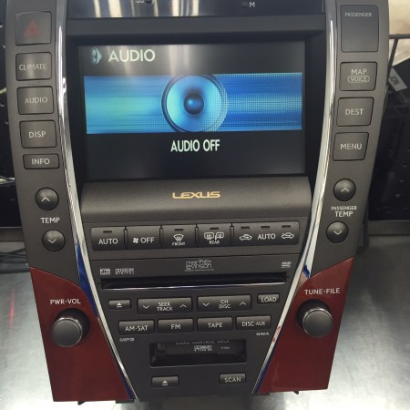 lexus-ES350-navigation-unit