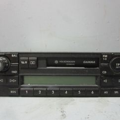 Vw Polo 9n Radio Wiring Diagram Home Audio System Cassetten Autoradio 6n0035186b Bj03 1 2