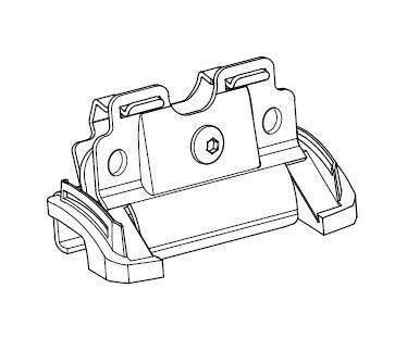 Thule Montagekit 4049 Fixpoint XT für Fußsatz 753 INF QX30