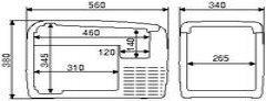 Mercedes-Benz Actros Kühlschrank / Kühlbox (ID:3507627)
