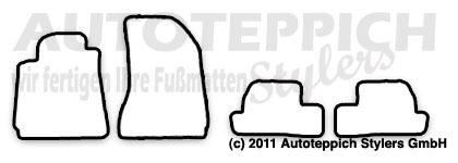 Auto-Fußmatten für Alfa Romeo Brera