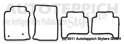 Auto-Fußmatten für Toyota Landcruiser J12