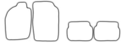 Auto-Fußmatten für Toyota Starlet P8