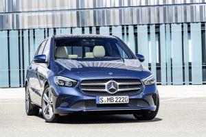 Ensiesittelyssä Mercedes-Benz B-sarja