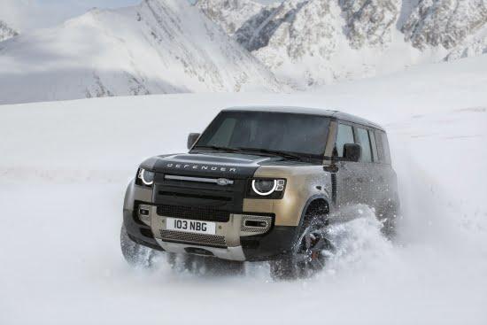 Land Rover ja uusi Defender