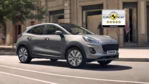 Uusi Puma liittyy Fordin 5 tähden turvallisuuden mallistoon