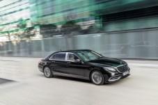 Mercedes-Maybach S 560 4MATIC; 2017; Exterieur: Unischwarz; Interieur: Seidenbeige/Titaniumgrau; Kraftstoffverbrauch kombiniert: 9,3 l/100 km; CO2-Emissionen kombiniert: 209 g/km // Mercedes-Maybach S 560 4MATIC; 2017; exterior: black; interior: silk beige/titanium grey; Fuel consumption combined: 9.3 l/100 km; CO2 emissions combined: 209 g/km