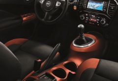 Nissan Juke MY18 Interior - Orange