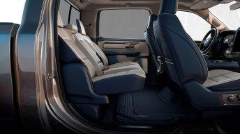 2019 Ram 1500 – Eight-degrees of Rear Seat Slide Recline
