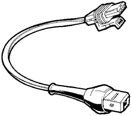 Kent Moore J-39021-380 Fuel Injector Test Adapter