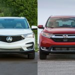 2019 Acura Rdx Vs 2019 Honda Cr V What S The Difference Autotrader