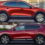 2020 Ford Escape Vs 2020 Nissan Rogue Which Is Better Autotrader