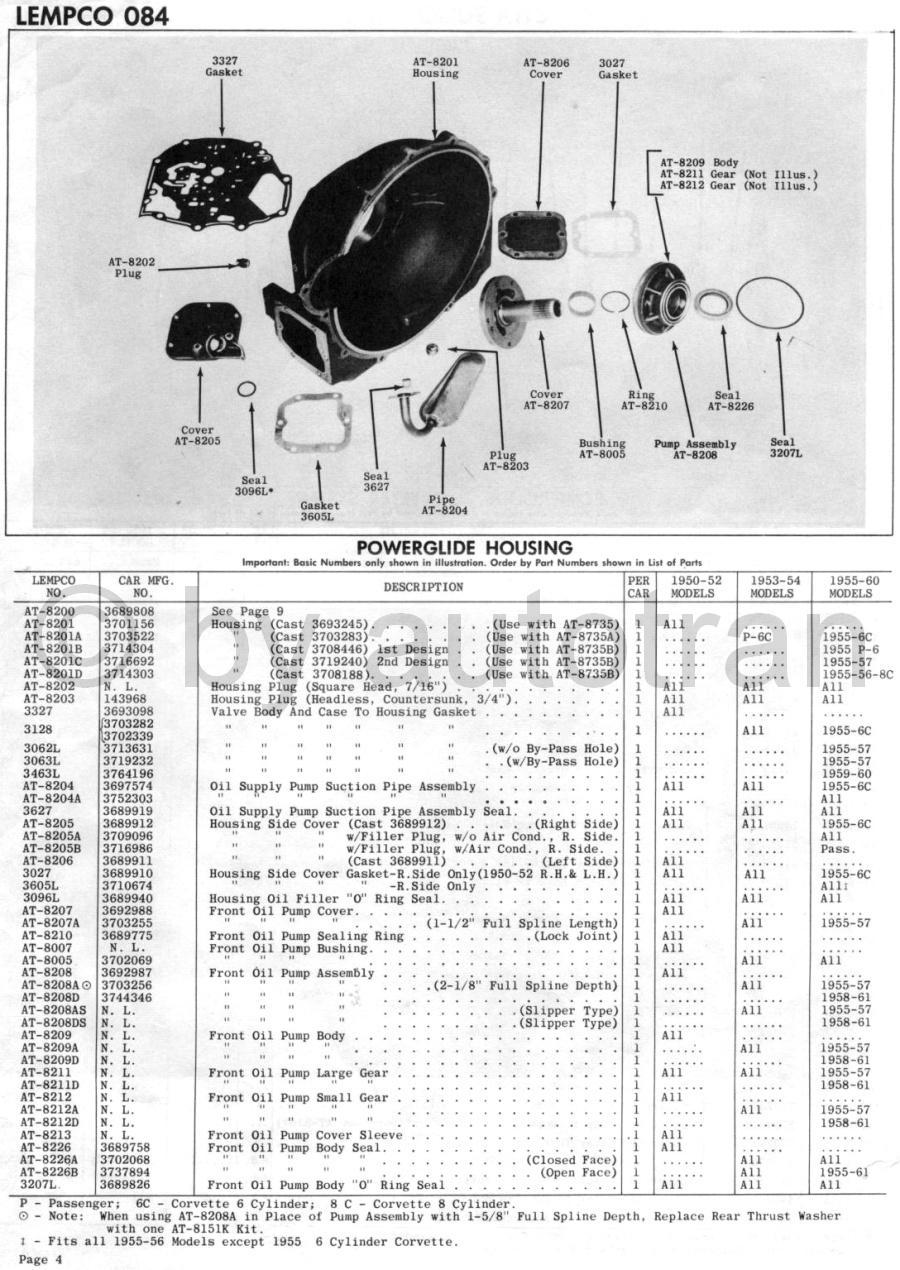 hight resolution of powerglide partspowerglide clutch diagram 21