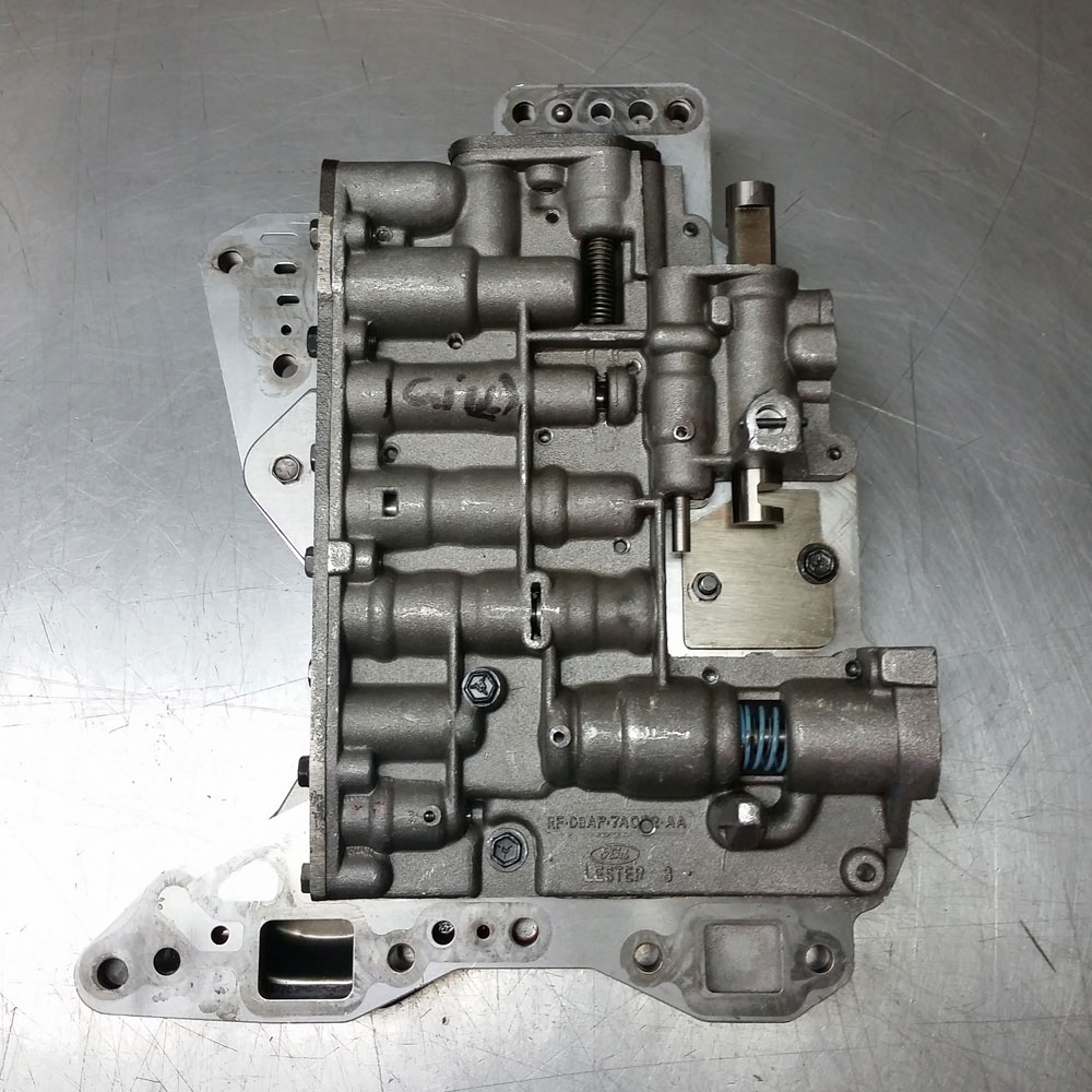 hight resolution of atd ford c6 reverse manual valvebody image