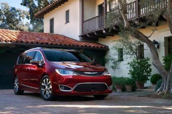 Chrysler presenta la totalmente nueva Pacífica 2017