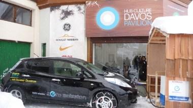 Nissan ELF sorprenderá en la Cumbre de Davos