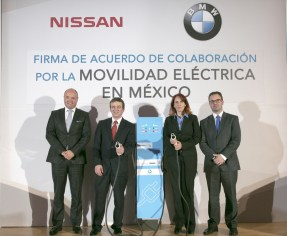 BMW Group México y Nissan Mexicana unen esfuerzos por la movilidad eléctrica
