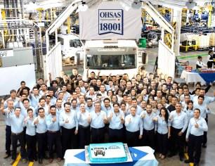 MAN Truck & Bus obtiene la certificación OHSAS 18001