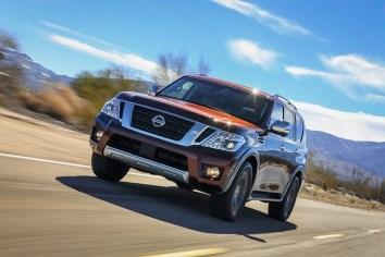 Nissan presenta la nueva SUV Armada 2017