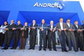 Inauguran empresa Android-Mitusi