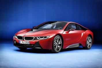 Presentan la edición exclusiva del BMW i8: Protonic Red Edition
