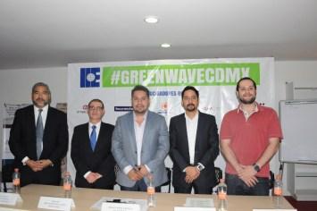 Presentan #GreenWaveCDMX en su primera edición