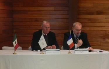 Cooperación bilateral entre agencias espaciales mexicana y francesa