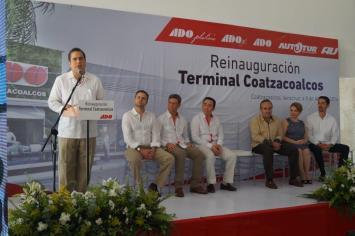 Modernizan Terminal de ADO en Coatzacoalcos