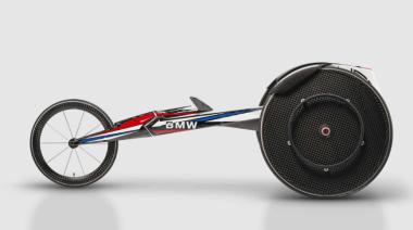 BMW presentó la nueva silla de ruedas para el equipo de Estados Unidos