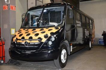 Mercedes-Benz Autobuses en los Premios Ariel
