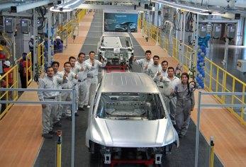 Volkswagen construye la primera carrocería de Tiguan