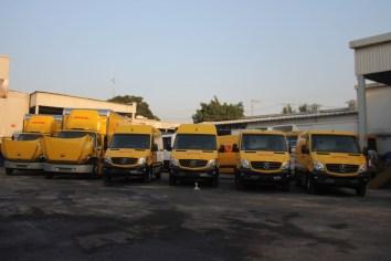 DHL fortalece su flotilla con unidades Mercedes-Benz