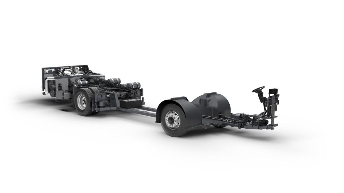 Chasis Volvo, respuesta a contingencias ambientales