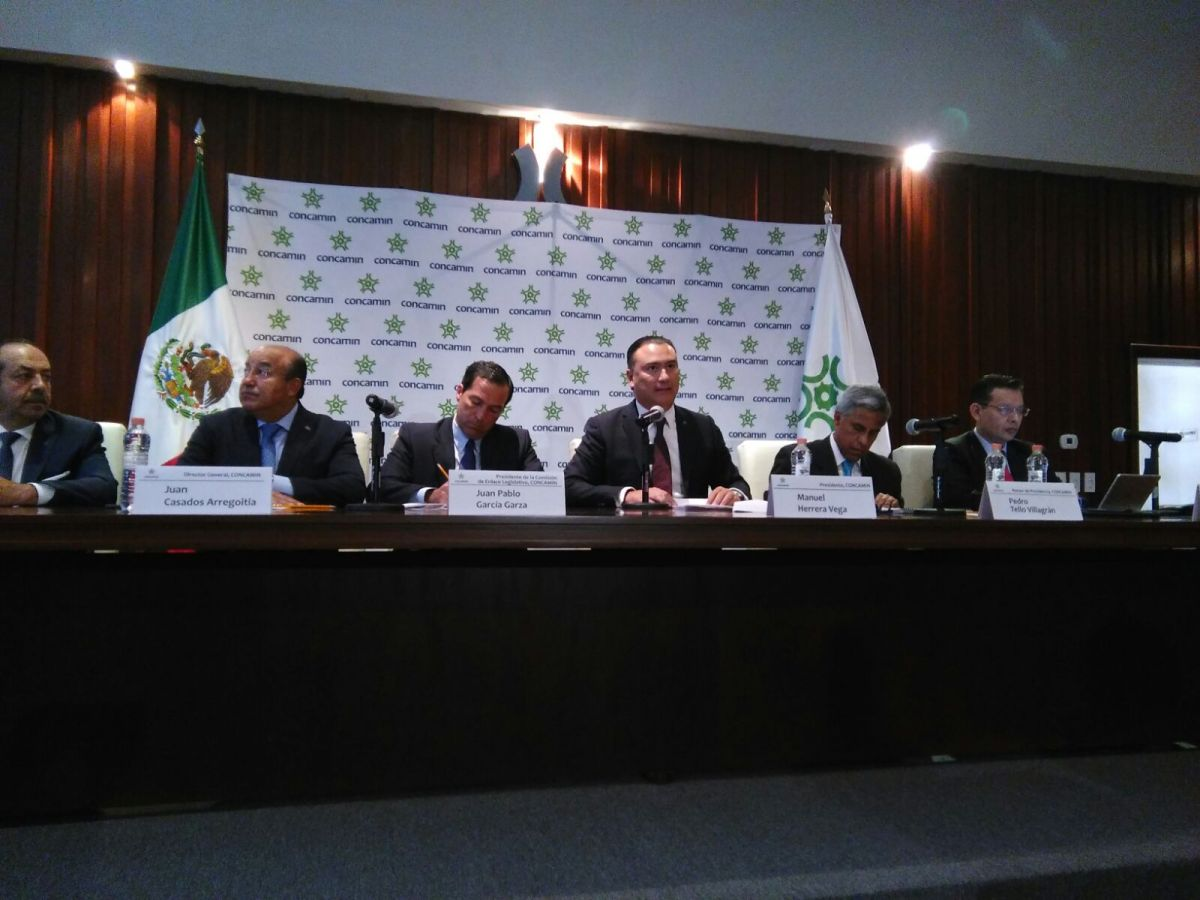 CONCAMIN busca sanciones severas a robo de autotransporte