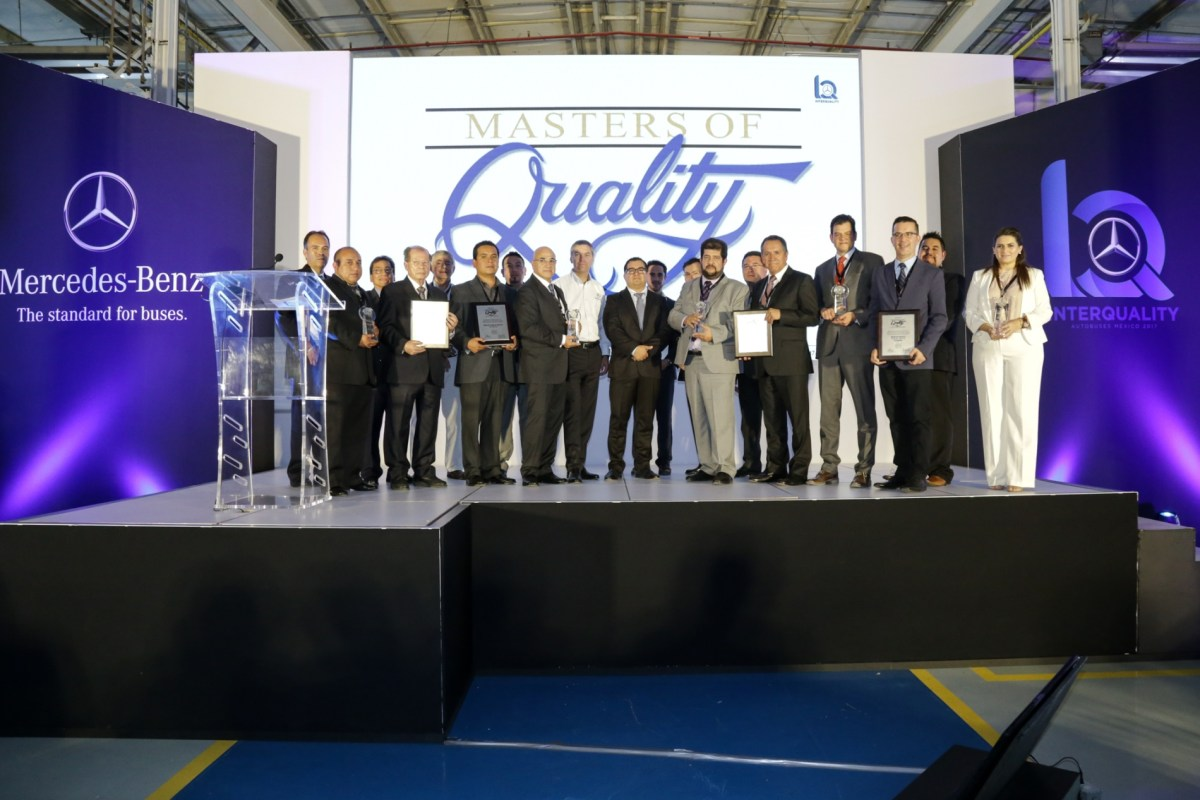 Masters of Quality: Mercedes-Benz Autobuses premia a sus proveedores