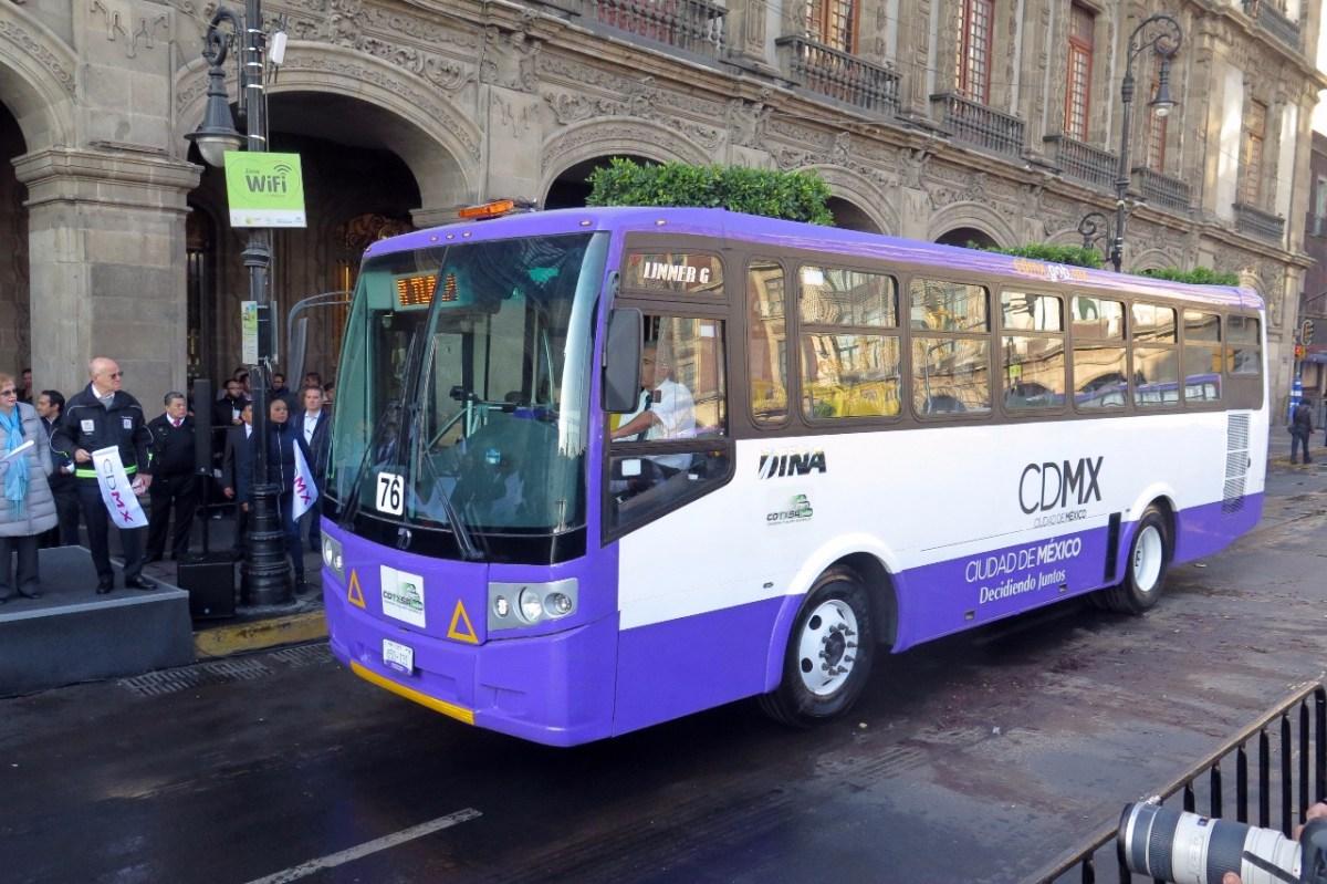 Arranca operaciones el corredor Izazaga-Xochimilco con 228 autobuses